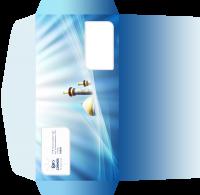 """Дизайн евро-конверта для Турагентства """"Космос Тревел Стар"""" (вариант-2)"""