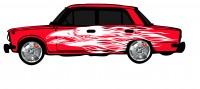 "Дизайн кузовного тюнинга ВАЗ-21013 ""Жигули"" для Ермолина Ю.Н. (вариант-11)"