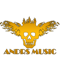 Дизайн логотипа для ANDRS MUSIC - Gold Fire Stile