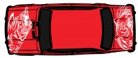 "Дизайн кузовного тюнинга ВАЗ-21013 ""Жигули"" для Ермолина Ю.Н. (вариант-4)"