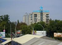 Дизайн накрышной рекламной конструкции для КИЇВСТАР