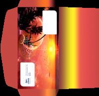 """Дизайн евро-конверта для Турагентства """"Космос Тревел Стар"""" (вариант-3)"""