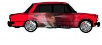 "Дизайн кузовного тюнинга ВАЗ-21013 ""Жигули"" для Ермолина Ю.Н. (вариант-44)"