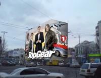 Дизайн брандмауэра TopGear для Первого автомобильного телеканала