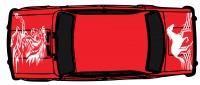 "Дизайн кузовного тюнинга ВАЗ-21013 ""Жигули"" для Ермолина Ю.Н. (вариант-16)"