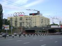 Дизайн накрышной рекламной конструкции для Audi
