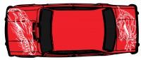 "Дизайн кузовного тюнинга ВАЗ-21013 ""Жигули"" для Ермолина Ю.Н. (вариант-31)"