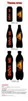 """Концепция """"Танец огня"""" энергетического напитка Drive Me для PepsiCo"""