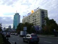 Дизайн накрышной рекламной конструкции для ING BANK