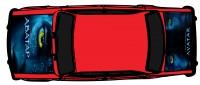 "Дизайн кузовного тюнинга ВАЗ-21013 ""Жигули"" для Ермолина Ю.Н. (вариант-42)"