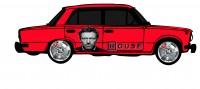 "Дизайн кузовного тюнинга ВАЗ-21013 ""Жигули"" для Ермолина Ю.Н. (вариант-41)"