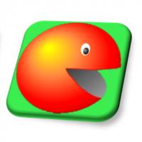 Дизайн иконки игры SUPAPLEX для iPhone / iPad приложения