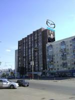 Дизайн накрышной рекламной конструкции + брандмауэра для MAZDA