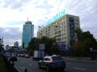 Дизайн накрышной рекламной конструкции для Carlo Pazollini