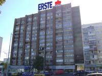 Дизайн накрышной рекламной конструкции для ERSTE Банк