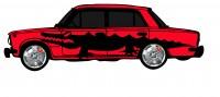 "Дизайн кузовного тюнинга ВАЗ-21013 ""Жигули"" для Ермолина Ю.Н. (вариант-29)"