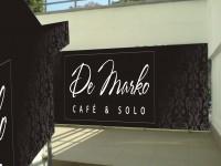Брендирование входной группы для Ресторана De Marko (вид-2)