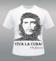 """Дизайн и изготовление футболки """"VIVA LA CUBA!"""""""