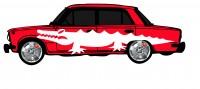 "Дизайн кузовного тюнинга ВАЗ-21013 ""Жигули"" для Ермолина Ю.Н. (вариант-32)"