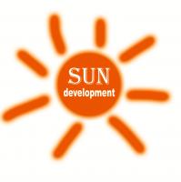 Логотип SUN DEVELOPMENT (вариант-2)