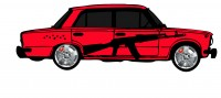 "Дизайн кузовного тюнинга ВАЗ-21013 ""Жигули"" для Ермолина Ю.Н. (вариант-22)"