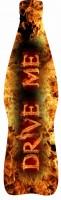 Дизайн бутылки 500 мл энергетического напитка Drive Me для PepsiCo