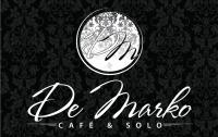 Дизайн логотипа для ресторана De Marko (вариант-3)