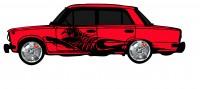 "Дизайн кузовного тюнинга ВАЗ-21013 ""Жигули"" для Ермолина Ю.Н. (вариант-2)"