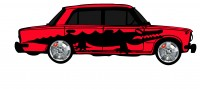 "Дизайн кузовного тюнинга ВАЗ-21013 ""Жигули"" для Ермолина Ю.Н. (вариант-30)"