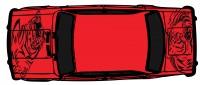 "Дизайн кузовного тюнинга ВАЗ-21013 ""Жигули"" для Ермолина Ю.Н. (вариант-1)"