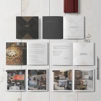 Каталог для компании которая занимается дизайном интерьеров и эксклюзивной мебели.