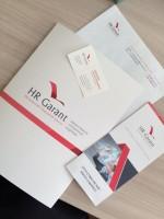 Фирменный стиль для компании HR Garant