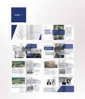 Буклет для инвестиционно строительной компании Мемфис