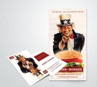 Corner burger flaer