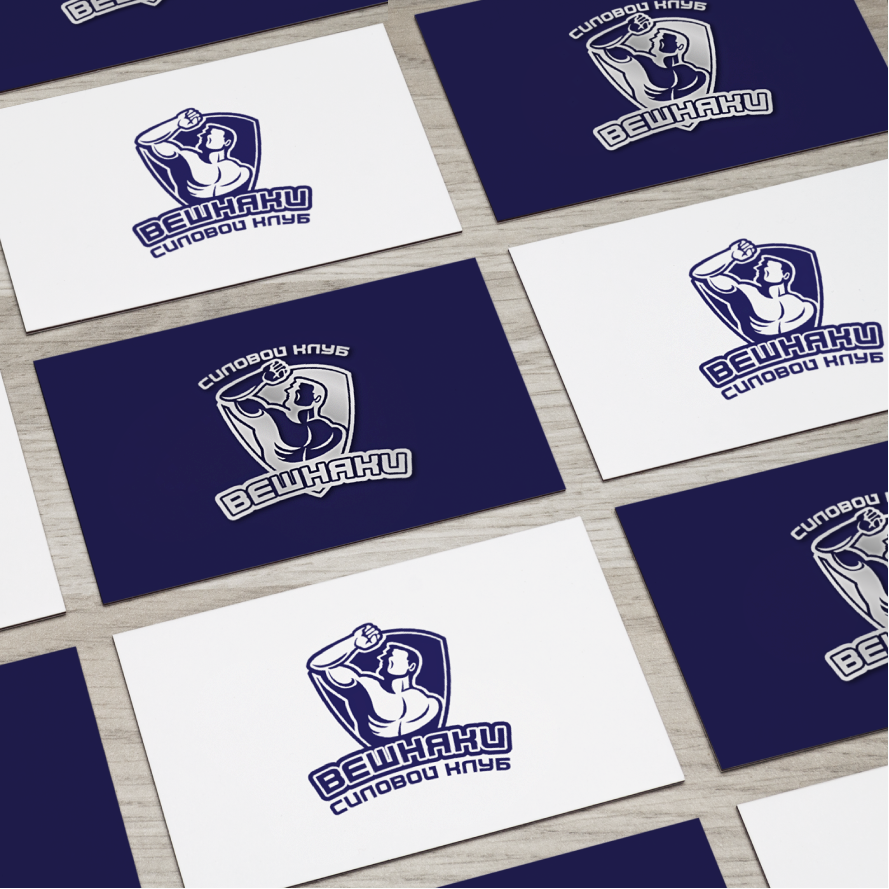 Адаптация (разработка) логотипа Силового клуба ВЕШНЯКИ в инт фото f_2645fbea9da3cf98.png