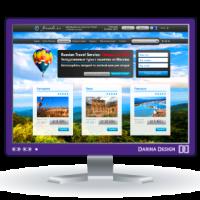 Faranda_информационно-сервисный портал_Landing page