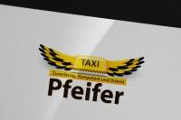 вариант логотипа для такси в Швецарии