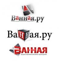 Логотип ремонт ванных комнат Ванная.ру