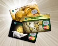 Дизайн CardGold для банка