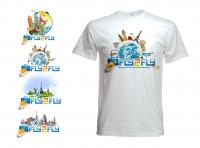лого и фирменная футболка для туристической фирмы