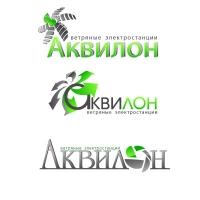 варианты логотипа кампании Аквилон