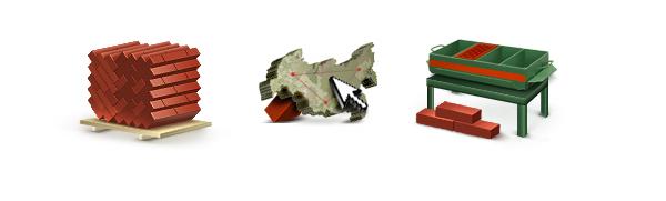 Иконки для сайта кирпичного завода