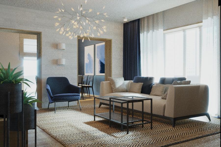 Дизайн проект интерьера первого уровня квартиры 69,9 м.кв. фото f_3595a85e66469d1a.jpg