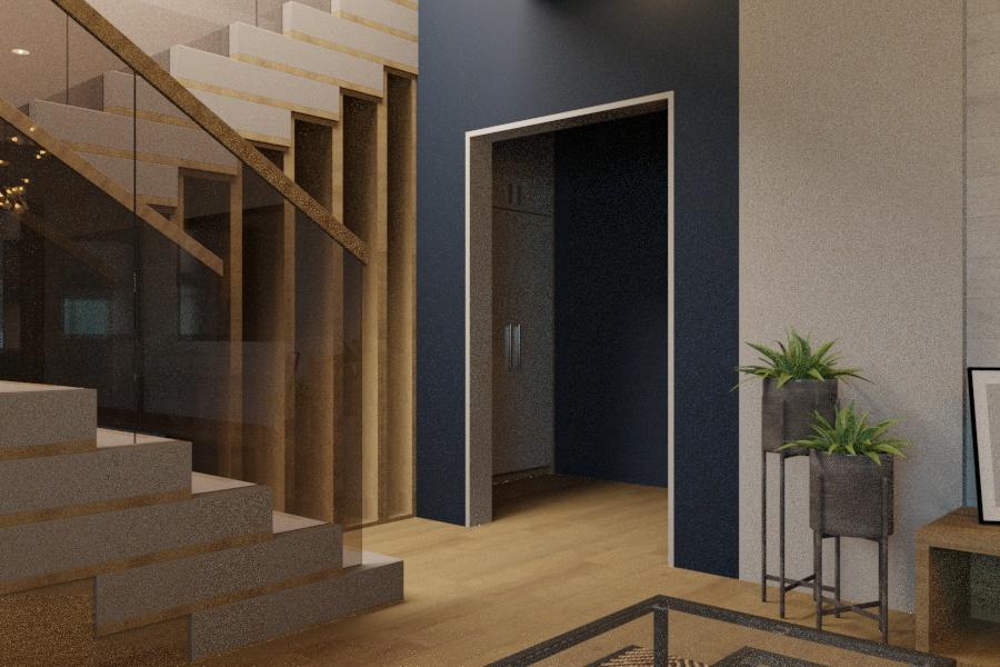 Дизайн проект интерьера первого уровня квартиры 69,9 м.кв. фото f_6805a85e67acace8.jpg