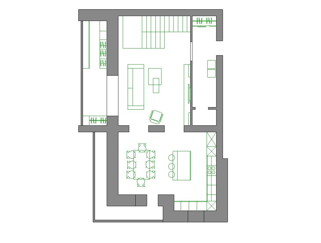 Дизайн проект интерьера первого уровня квартиры 69,9 м.кв. фото f_8495a85ed4390e15.jpg