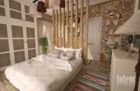 Интерьер спальни дома «Вилла Виктория» компании ARCHON+