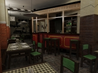 Ресторан в стиле 50-х годов 2