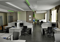 Офис компании_основной зал 1