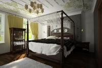 Спальня. Кровать с балдахином 1