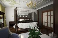 Спальня. Кровать с балдахином 2